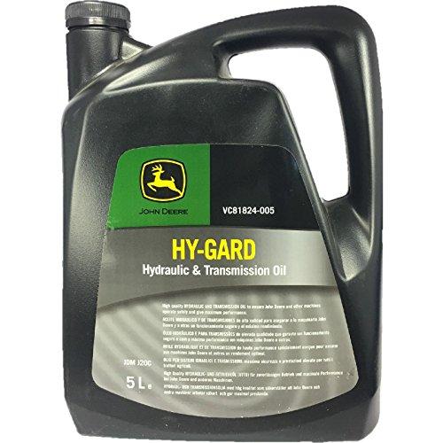 John Deere JDHYGARD5 Hy-Gard - Aceite Hidráulico y de Transmisión, 5L