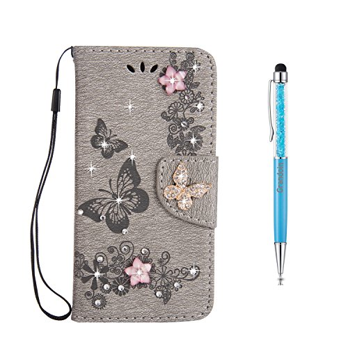 Galaxy S7 Edge Hülle [Lebenslange Garantie],Grandoin Handyhülle im Brieftasche-Stil für Samsung Galaxy S7 Edge Handytasche PU Leder Flip Cover [Aufstellfunktion] [Ständer Kartenfach] Etui Case