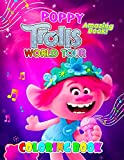 Amazing Book! - Poppy Trolls World Tour Coloring Book: Cute illustration - Learn and Fun Big Images - For Kids - Stimulate Creativity