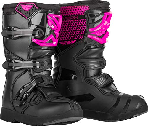 FLY Racing Maverik Boots for Motocross, Off-road, and ATV riding (SZ 02,PINK/BLACK)