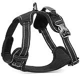 KORATER Dog Harness No-Pull Anti-Tear Adjustable Outdoor Pet Vest 4M Reflective...