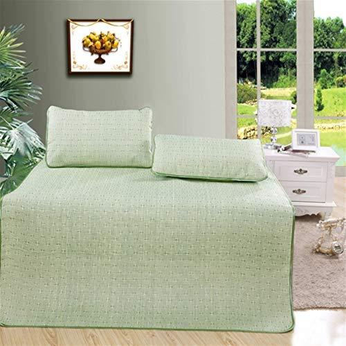 Exquisito estera de estera de estera de doble colchón de doble colchón de playa colchoneta al aire libre colchoneta colchoneta colchera de verano estera de verano ( Color : 2 , Tamaño : 180*200cm )