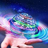 Fereiy Flying Orb, 2021 Upgraded Cool Nebula Soaring Orb Toy, Magic Led Lights Floating Fly Space Ball Spinner Drone for Kids Outdoor Indoor (Blue)