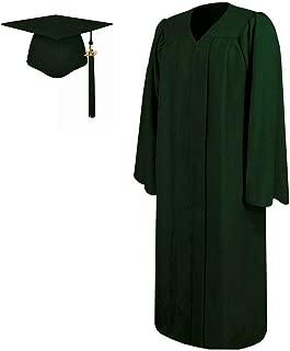 forest green graduation cap