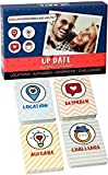Up Date - Das Spiel für Paare   128 liebevoll designte Karten mit Locations, Gesprächsthemen,...