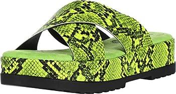 Rocket Dog Women s Venus Snake PU Platform Yellow 8