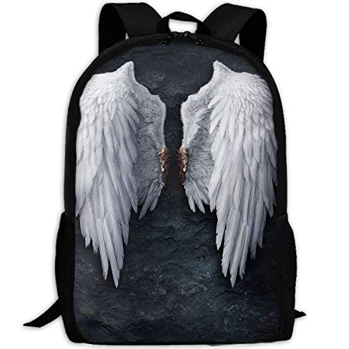 Awesome Broken Angel Wings Unique Outdoor Shoulders Bag Fabric Rucksack Multipurpose Daypacks
