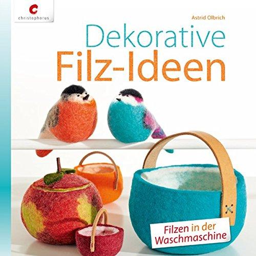 Dekorative Filz-Ideen: Filzen in der Waschmaschine