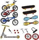 JPYH Mini Juguetes de Dedos Patinetas de Bicicletas de Dedo Tabla de Scooter de Dedo Minúsculo Favores de Fiesta de...