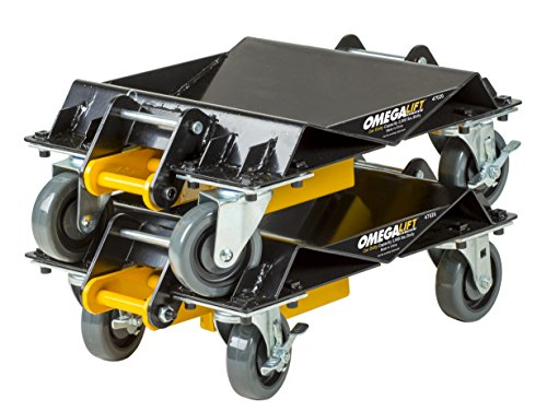 Omega 47020 2000 lb HD 3 in 1 Car Dolly Set, 1 Pack