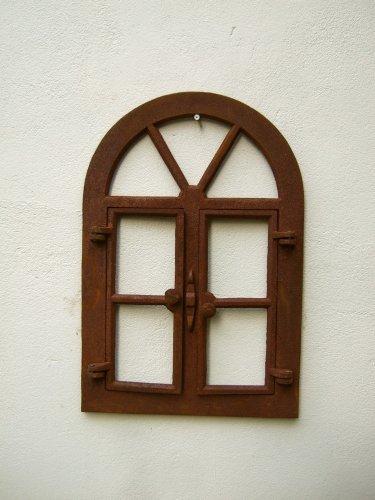 Antikas - Eisenfenster - Sprossenfenster, Stallfenster für Gartenmauer, Fenster Sungarden