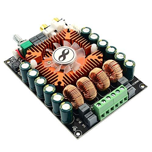 GoolRC Placa Amplificadora de Potencia Digital de Alta Potencia TDA7498E 2,0 Estéreo de Alta Fidelidad 160 W * 2 Compatible con Placa Amplificadora de Audio BTL DC 12V-32V