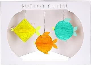 Meri Meri 誕生日魚ハニカムカード