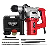 Toolman Electric Power Rotary Hammer Drill Driver...