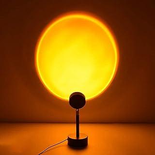 Sunset Projection Led Light Chambre à Coucher éclairage,nuit romantique coucher de soleil Led Floor Lamp for Living Room B...