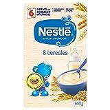 Nestlé Papilla 8 cereales, Alimento Para bebés -  600 gr