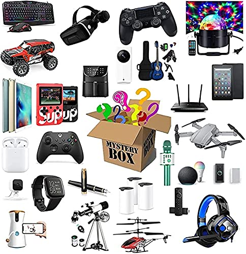 Xue Mei Zi Lucky Surprise Mystery Box Cajas Ciegas, Electrónica Heartbeat Game Drones, Reloj Inteligente, Modelo De Coche, Auriculares Bluetooth, Gamepad