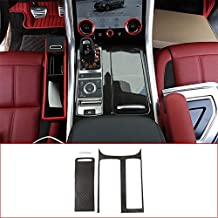 For Land Rover Range Rover Sport 2014-2017(LHD), Carbon Fiber Style ABS Plastic Center Console Panel Cover Frame Trim