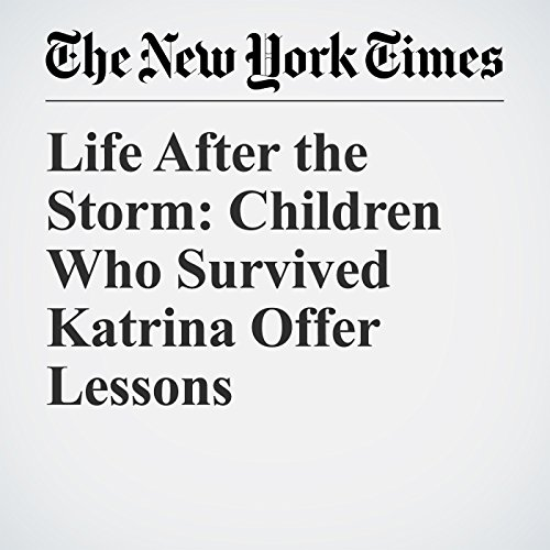 Life After the Storm: Children Who Survived Katrina Offer Lessons copertina