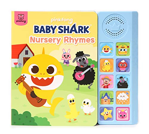 Baby Shark Nursery Rhymes Sound Book