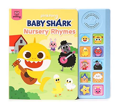 Pinkfong Baby Shark Nursery Rhymes Sound Book