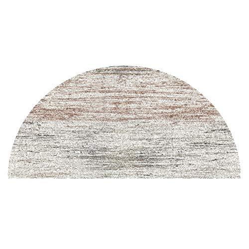 Yanan-Teppiche Wohnzimmer Bereich Teppich Nordisch Halbrunder Teppich Schlafzimmer Bettdecke Wohnzimmer Eingang Halle Teppich Badezimmer Toilette Anti-Rutsch Matte Haus Dekoration