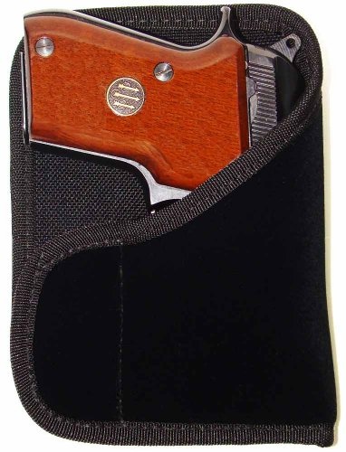 Active Pro Gear Gun Concealment Wallet Holster (21K: Fits Ruger LCP; Kel-Tec P-32 and P-3AT; Kahr P380 Also fits Above Guns with Crimson Trace Laser, Right Hand Draw)