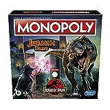 Hasbro Monopoly: Jurassic Park Edition gioco da tavolo per bambini dagli 8 anni in su
