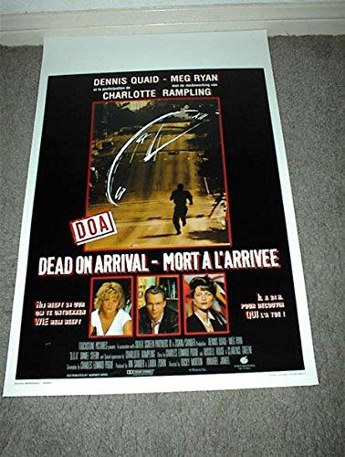 D.O.A. original 1988 Belgian 14x22 movie poster DENNIS QUAID/MEG RYAN/CHARLOTTE RAMPLING