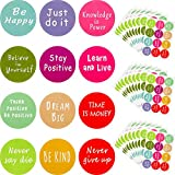 240 Pieces Inspiring Planner Stickers Inspirational Quote Stickers Motivational Encouragement Stickers for Laptop Book Phone Car Luggage Bike (Colorful)