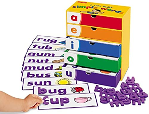 I Can Build Simple Words  by Lakeshore Learning Materials