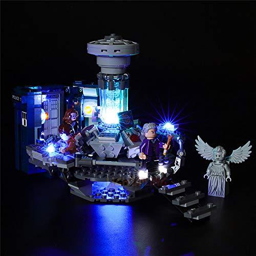 LODIY Beleuchtung Licht Set für Lego Ideas Doctor Who 21304 - LED Beleuchtungsset für Lego 21304 (Nicht Enthalten Lego Modell)