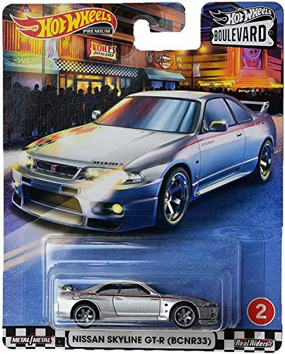Hot Wheels Boulevard Nissan Skyline GT R (BCNR33), Silver