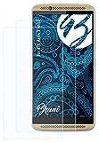 Bruni Schutzfolie kompatibel mit ZTE Axon 7 Mini Folie, glasklare Bildschirmschutzfolie (2X)