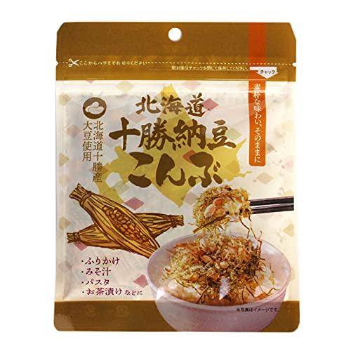 十勝納豆昆布 25g×10P 札幌食品サービス 北海道産大豆使用 化学調味料無添加