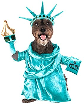 Statue of Liberty Pet Costume Large