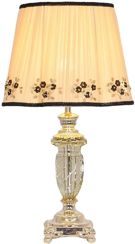 Gorkuor Tischlampe Kristall Tischlampe Schlafzimmer Nachttischlampe 35.5CM Breite Ehe Zimmer Zimmer Zimmer Hochzeit Licht E27 Dekorative Tischlampe Originalität (Farbe  A) B07JRDGBHF | Ausgang  dd0d18