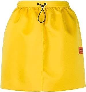 HERON PRESTON Luxury Fashion Womens HWCC011R208780046000 Yellow Skirt |