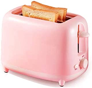 LUNAFJ Mini Toaster Is Compact Double-Sided Baking Home Toaster 7 Gear Positions Temperature Control Simplicity Bread Machine Thawing Function Kitchen Appliance