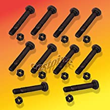10 Pack Shear Pins & Nuts For Ariens Snowlower # 52100100 Rotary 5575 Length: 2 ;P#O455K5/U 7RK-B279967
