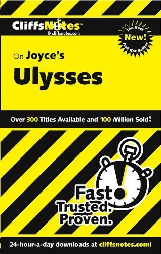CliffsNotes on Joyce's Ulysses, Revised Edition (Cliffsnotes Literature Guides) by Edward A Kopper (2003-01-06)