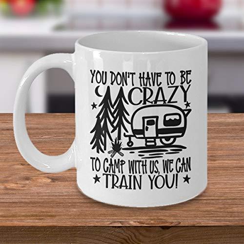 DKISEE Taza Crazy Camper