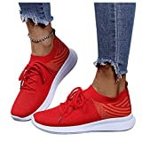 Walking Shoes for Women Wide Width,Women's Canvas Slip On Shoes Sneakers for Women Fashion Comfortable White Black Elastic Sneakers for Women