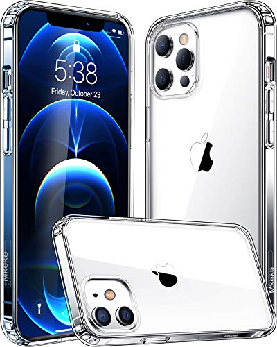 Mkeke Compatible with iPhone 12 Case, Compatible with iPhone 12 Pro Case Clear Cover for 6.1 Inch 2020