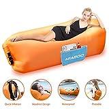 MIABOO Aufblasbare Sofa,Wasserdichtes Aufblasbares Air Lounger mit Tragebeutel, zum Schlafen im Frei...