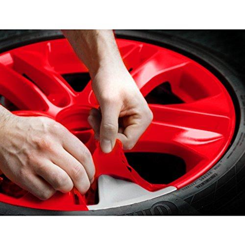 Ricambi Auto Europa Rimovibile Vernice Pellicola Bombolette Spray K2 (Rosso)