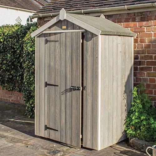 Rowlinson, Grey Wash, 4x3 Heritage Shed
