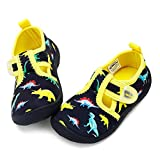 nerteo Boys Cute Aqua Water Shoes Walking Sneakers Sandals for...