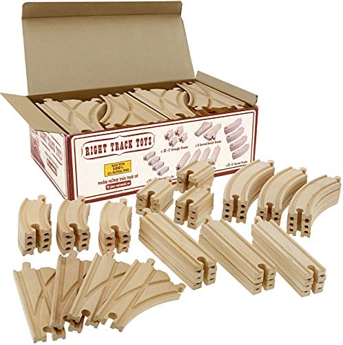 Details about  /Wooden Train Tracks Bridge Accessories Play Set Classic Toys Fits for Thomas