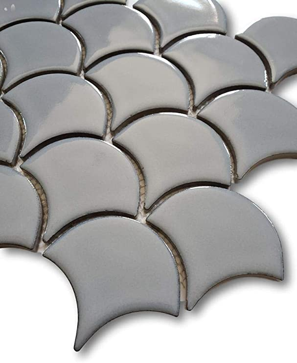 Aqua Blue Modelli Glossy Porcelain 3 x 12 Subway Tiles 5 Square Feet